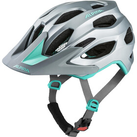 Alpina Carapax 2.0 Kask rowerowy, steelgrey-smaragd